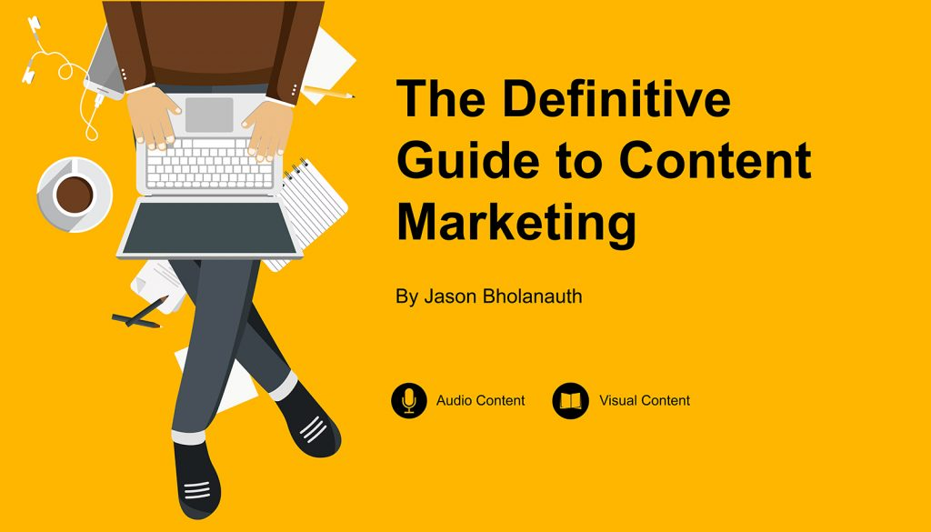 Digital Marketnig Mauritius - Definitive Guide to Content Marketing Guide