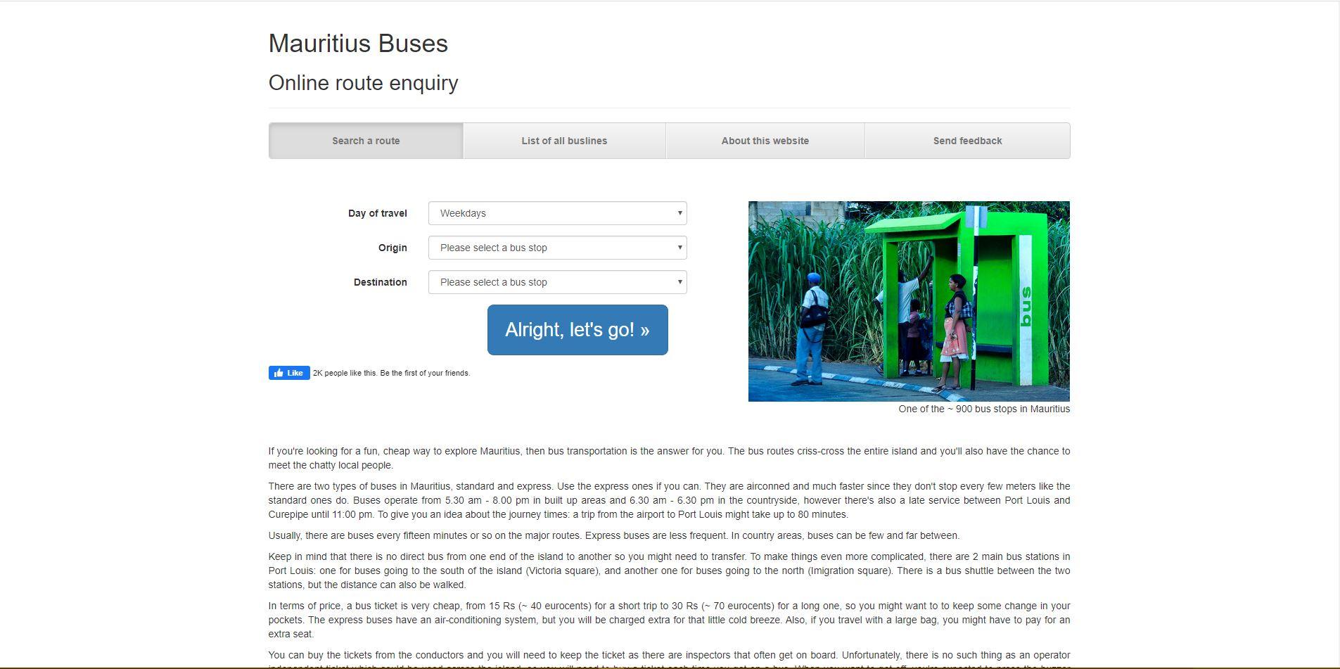 Mauritius Buses - Enquiry - Digital Markteing Mauritius - Ecommerce