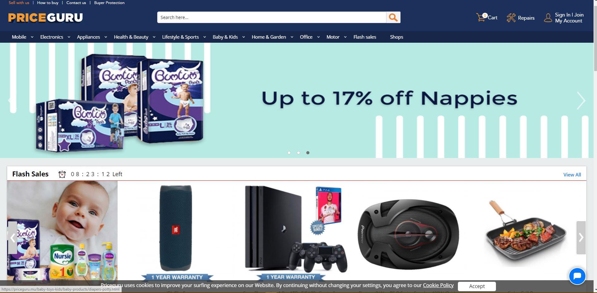 PriceGuru-Digital-Marketing-Mauritius-Ecommerce