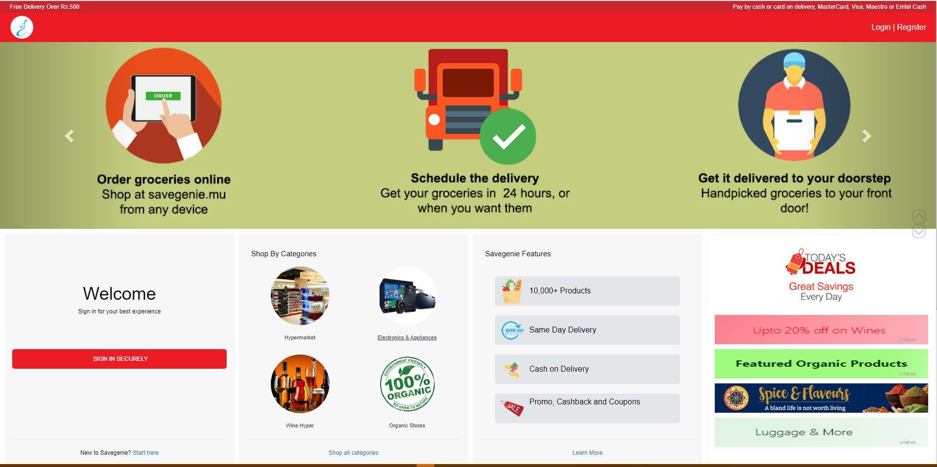 Savegenie-Digital-Marketing-Mauritius-E-commerce