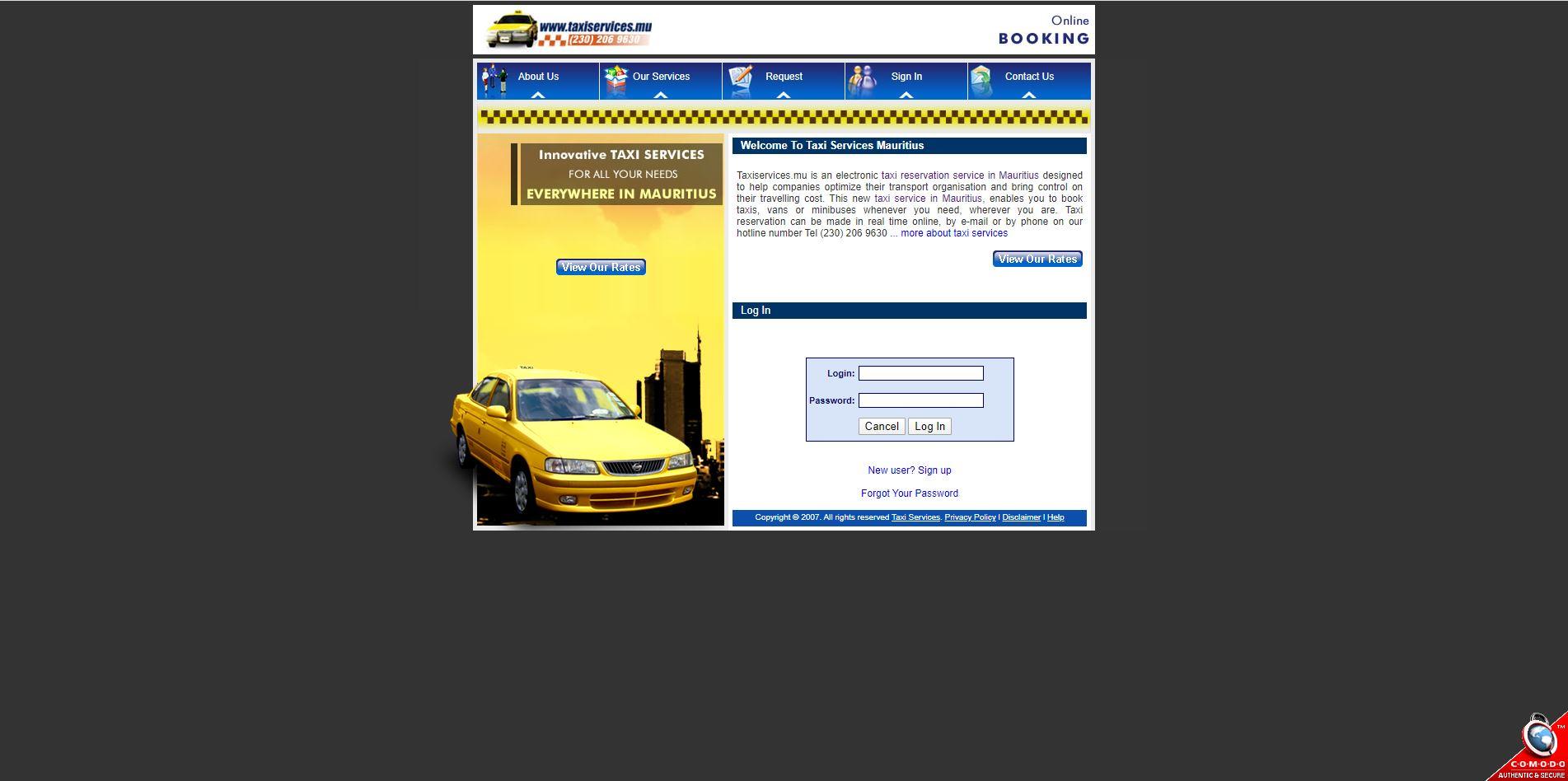 Taxi-Services-MU-Digital Marketing Mauritius - Ecommerce