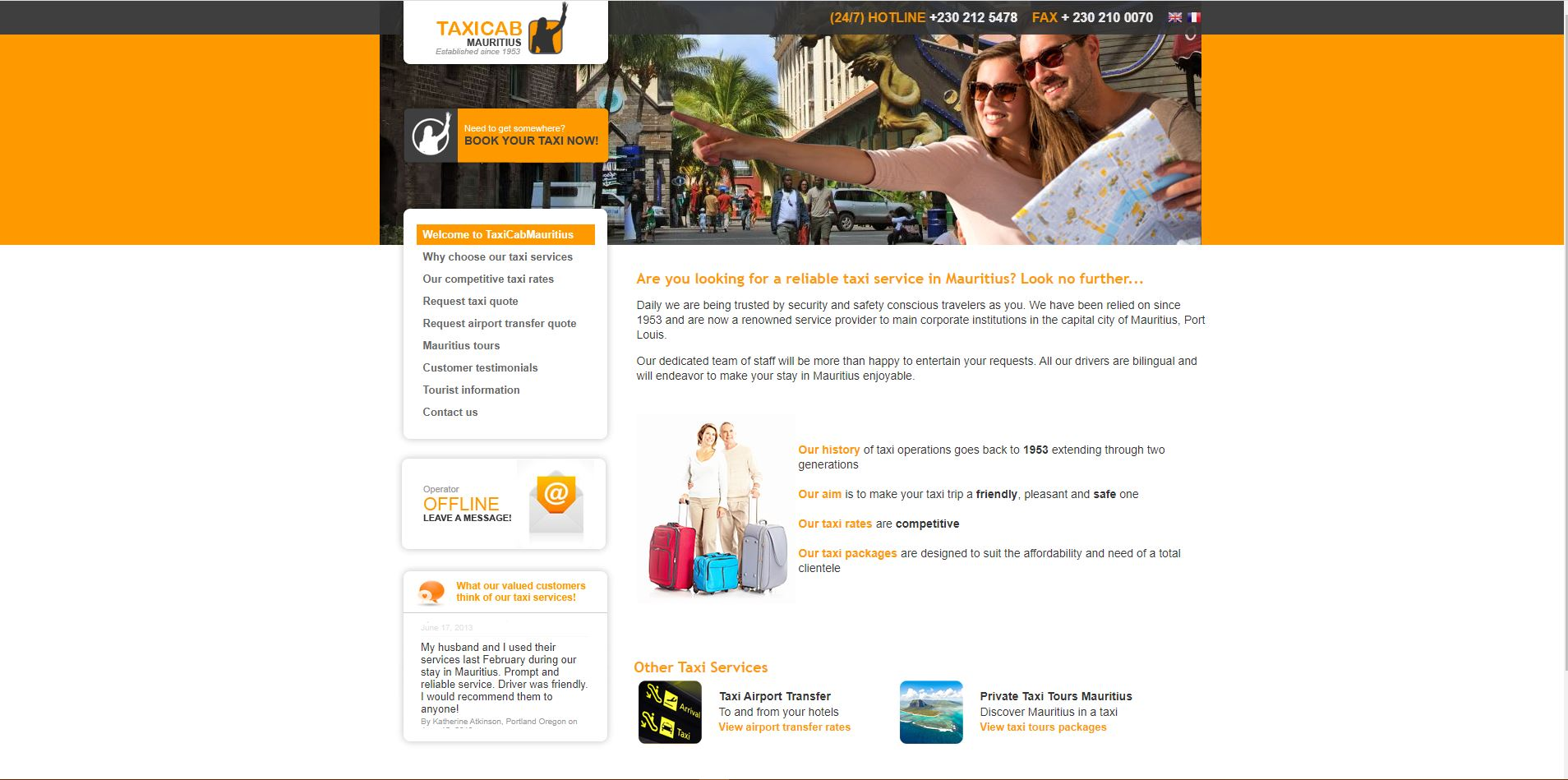 TaxiCab0Mauritius : Digital Marketing Mauritius Ecommerce